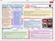 Our British values statement