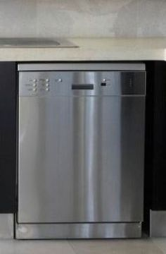 Get the look of stainless steel at the fraction of the cost. Paint old appliances with Krylon Stainless Steel Finish. #DIY