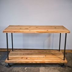 Pine Pipe Console, $535, now featured on Fab.