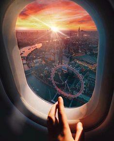 Great London Photo by Jacob McPherson ———————– – Travel Airplane Photography, Travel Photography, Airplane Window View, Travel Goals, Travel Hacks, Travel Ideas, London Life, London Photos, Travel Aesthetic