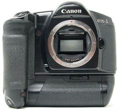 Canon EOS 1 - The first of the modern EOS film cameras from Canon - auto focus and a new lens mount. Lost in a home burglary.