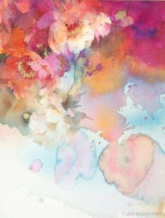Yuko Nagayama #watercolorarts