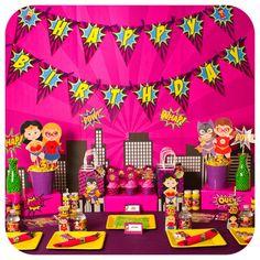 Supergirl Supergirl Party Supergirl Birthday by KraftsbyKaleigh