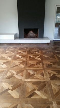 Du Maurier (or Florentino) parquet panels - Heavy Fume and oil