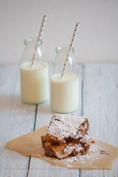 chocolate walnut brownies//