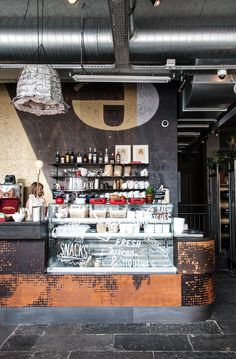 Amsterdam | Volkshotel. Modern, minimalist, industrial or retro style bars. Learn how to create the best ambiences! Check out http://www.pinterest.com/homedsgnideas/ for more amazing ideas.