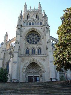 National Washington Cathedral.  #weddings #church