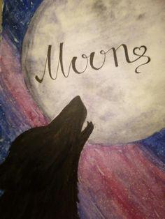 #Moon #Wolf рисунок волка, рисунок луны. Луна и волк, космос
