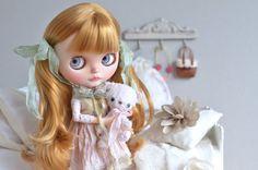 Amanda Artdoll OOAK Custom Blythe Doll by MaPoupeeCherie on Etsy