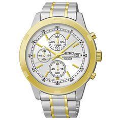Seiko Chronograph Men's Quartz Watch SKS432