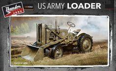 THUNDER MODELS 1/35 US Army Loader TM35002 #ThunderModels