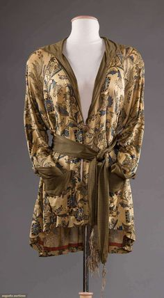 Evening jacket, silk, no location available, 1920s