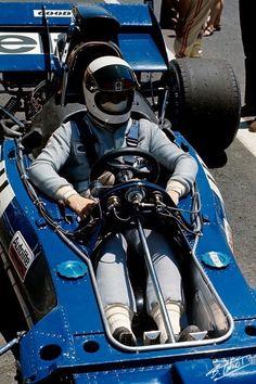 Jackie Stewart/Tyrrell 003/Paul Ricard 1971