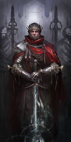 King of the Britons, Daniel Kamarudin on ArtStation at https://www.artstation.com/artwork/g2dYG