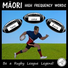A fun, engaging activity for your students (particularly your boys) to practise reading 350 high frequency Māori words. The Activity: Place the rugby balls face down (in a pile or scattered). Each student has a 'Rugby League Score Sheet' in front of them. Spelling Words, Sight Words, School Resources, Classroom Resources, Maori Words, High Frequency Words, Rugby League, Classroom Environment, Primary School