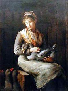 Marie Petiet, Jeune fille à loie