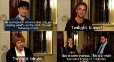 I love this interview! Teaching the Harry potter cast to speak American!