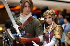 So this is one of my favorite pictures from Acen 2010. I got a lot of great pictures of my finally finished Link costume but I really like this one. Plus 's wonderful Zelda costume always makes the...