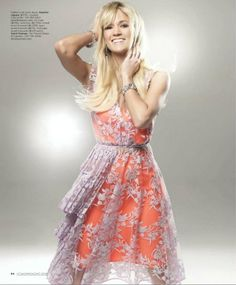 Carrie Underwood wearing a Nanette Lepore dress in Vegas Magazine. See the other photos: http://bit.ly/HmTyKs
