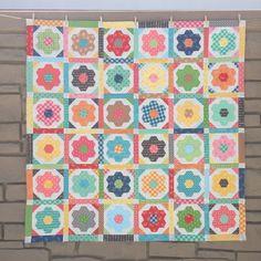 Mama's Flower Garden Quilt Tutorial!