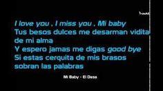 mi baby el dasa lyrics - YouTube