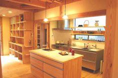 造作キッチン作業台