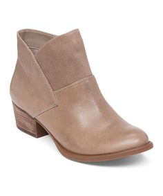 Another great find on #zulily! Slater Taupe Darbey Leather Boot by Jessica  Simpson Collection