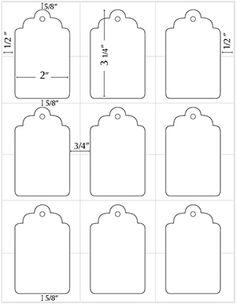 Tag Templates, Templates Printable Free, Free Printables, Blogger Templates, Design Templates, Wedding Tags, Printable Tags, Paper Tags, Hang Tags