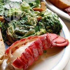 Lobster Tails Steamed in Ale @ allrecipes.co.uk