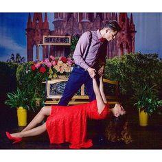 "Felipe Duarte & Samantha Santiago! ""Los Secretos de Santa Monica"" #secretossm #theater #actors #dance #stage #offbroadway #passion #love #red #salsadancing #characters #chicagoactors #talent #bowtie #teatro #univision #univisionchicago #chicagomodel by isaiasperez_official"