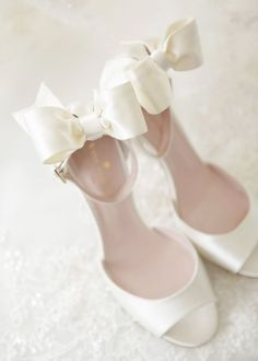 Featured Photographer: Wayne & Angela Photographers; Wedding shoes idea.