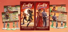 Gale Force Nine's Firefly board game is a sprawling adventure of assembling our favorite crew and taking on the 'verse. Shepherd Book, Tabletop Board Games, Geek Gadgets, The Expanse, Folk, Geek Stuff, River, Adventure, Baseball Cards