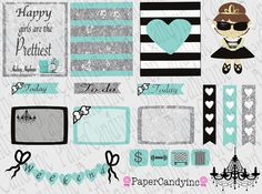 Cute Breakfast at Tiffany inspired printable by PaperCandyinc