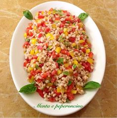 Tuna Casserole, Orzo, Fried Rice, Finger Foods, Italian Recipes, Risotto, Salads, Food And Drink, Healthy Eating