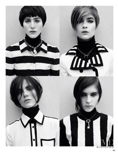 Mod Revolution in Vogue China with Bo Don,Kel Markey,Agnes Nabuurs wearing Dolce