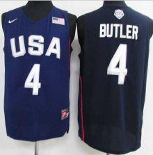 Nike Team USA  4 Jimmy Butler Navy Blue 2016 Dream Team Stitched NBA Jersey 1357653a7