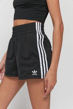 Shop adidas Pull-On Short at Urban Outfitters today. We carry all the latest styles, colors and brands for you to choose from right here. Adidas Shoes Outfit, Adidas Shorts, Sport Shorts, Athletic Shorts, Running Shorts Outfit, Cute Shorts, Casual Shorts, Dress Outfits, Sporty Outfits