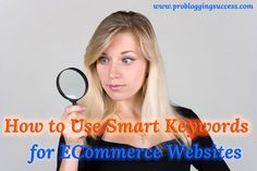 How to Use Smart Keywords for ECommerce Websites
