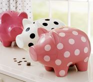 Every girl should have a cute piggy bank