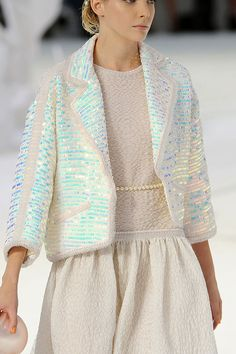 opalescent sequins, chanel