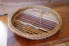 Basket Tray, Basket Weaving, Wicker Baskets, Making Ideas, Artisan, Fat, Photos, Decor, Baskets