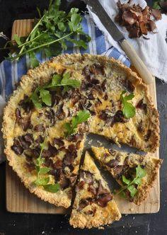 Quick, Easy Biltong Quiche Recipe - My Easy Cooking Banting Recipes, Low Carb Recipes, Cooking Recipes, Banting Diet, Lchf, Yummy Recipes, Cake Recipes, California Pizza Kitchen, Kos