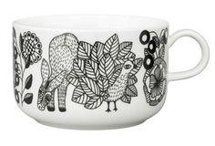 Arabia Finland Piilopaikka Metsä / Metsa Cup l, by Piia Keto Carlton Ware, Pottery Sculpture, Cool Mugs, Marimekko, Ceramic Cups, Ceramic Painting, Scandinavian Design, Nordic Design, A Table
