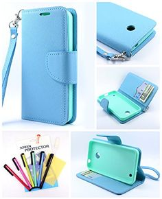 Thousand Eight(TM) For Nokia lumia 635/630 Candy Dual-Use Flip PU Leather Wallet Pouch Case + [Free LCD Screen... http://www.smartphonebug.com/accessories/12-best-nokia-lumia-630-cases-and-covers/
