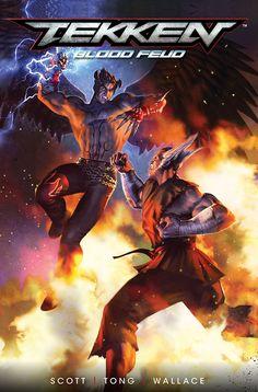 Buy Tekken by Cavan Scott at Mighty Ape NZ. New original comic adventures based in the world of the best-selling fighting video game! Tekken 1, Tekken Jin Kazama, Cbr, Tekken Wallpaper, Videogames, Bandai Namco Entertainment, Comic Page, Comic Book, World Of Books