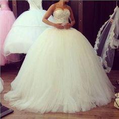 wedding dress... Like Cinderella