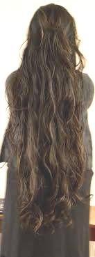 Beautiful super very long hair