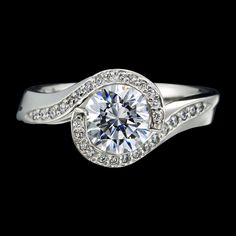 Engagement Ring Designs by Laguna Beach Jewelry Designer Adam Neeley Diamond Gemstone, Diamond Jewelry, Gemstone Rings, Diamond Ring Settings, White Gold Jewelry, Wedding Rings For Women, Designer Engagement Rings, Modern Jewelry, Ring Designs
