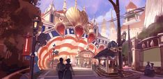 Bioshock: Infinite Concept Art by Ben Lo