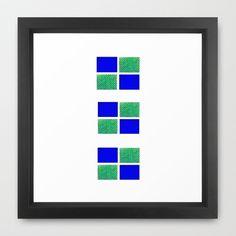 Blocks+2+Framed+Art+Print+by+Jensen+Merrell+Designs+-+$32.00